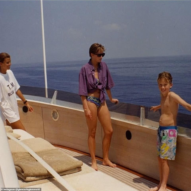 Rare Princess Diana's photos in a bikini two years before her separation goes viral online