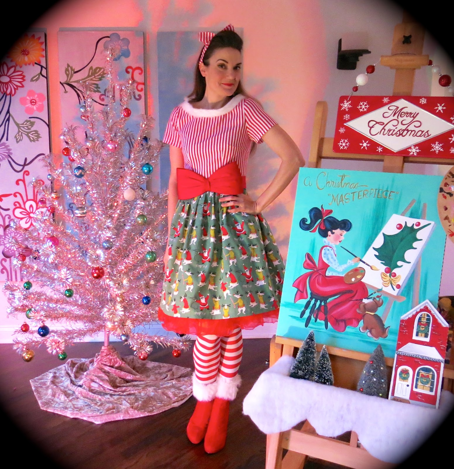 Cassie Stephens Christmas Craft