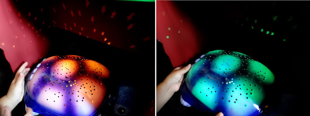 cuddly nightlight, multi colour nightlight, stars projector