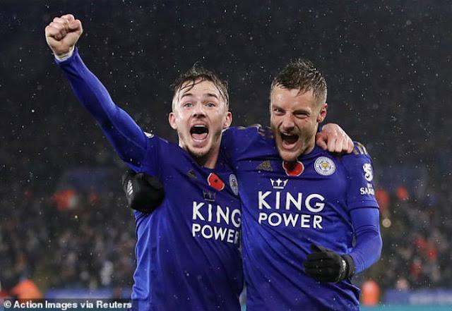 """Video Leicester City 2-0 Arsenal: Thêu hoa dệt gấm, """"kết liễu"""" trong 7 phút"""
