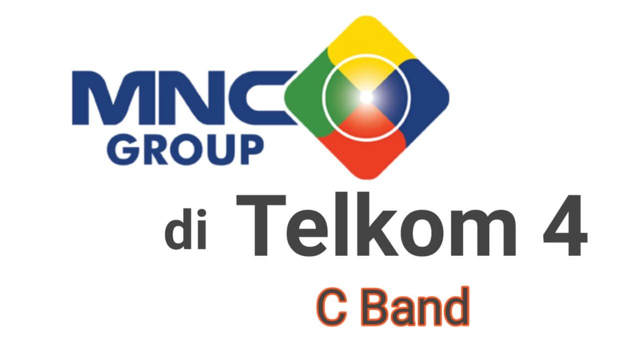 Update Frekuensi terbaru di satelit Telkom 4 ada MNC group
