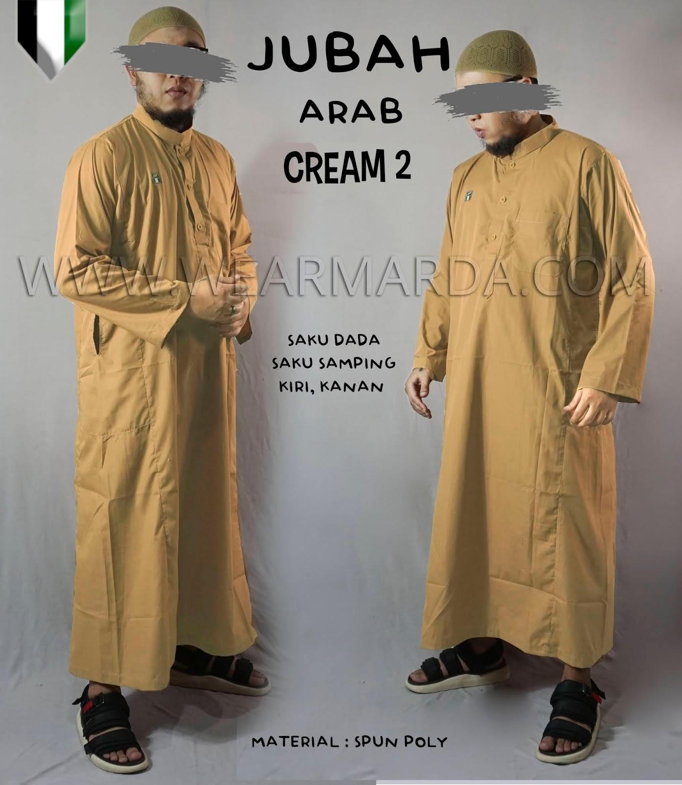 JUBAH ARAB CREAM 2