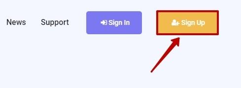 Регистрация в Relaro