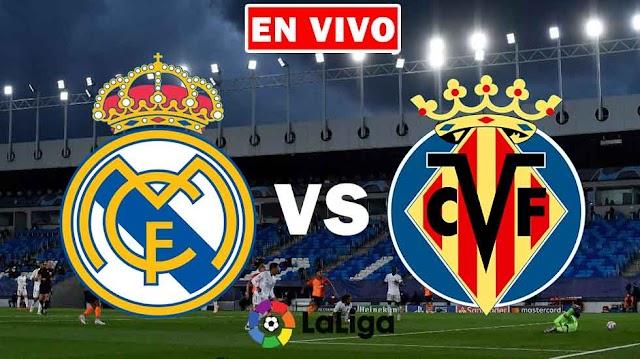 EN VIVO | Real Madrid vs. Villarreal Jornada 38 de la Liga Española ¿Dónde ver el partido online gratis en internet?