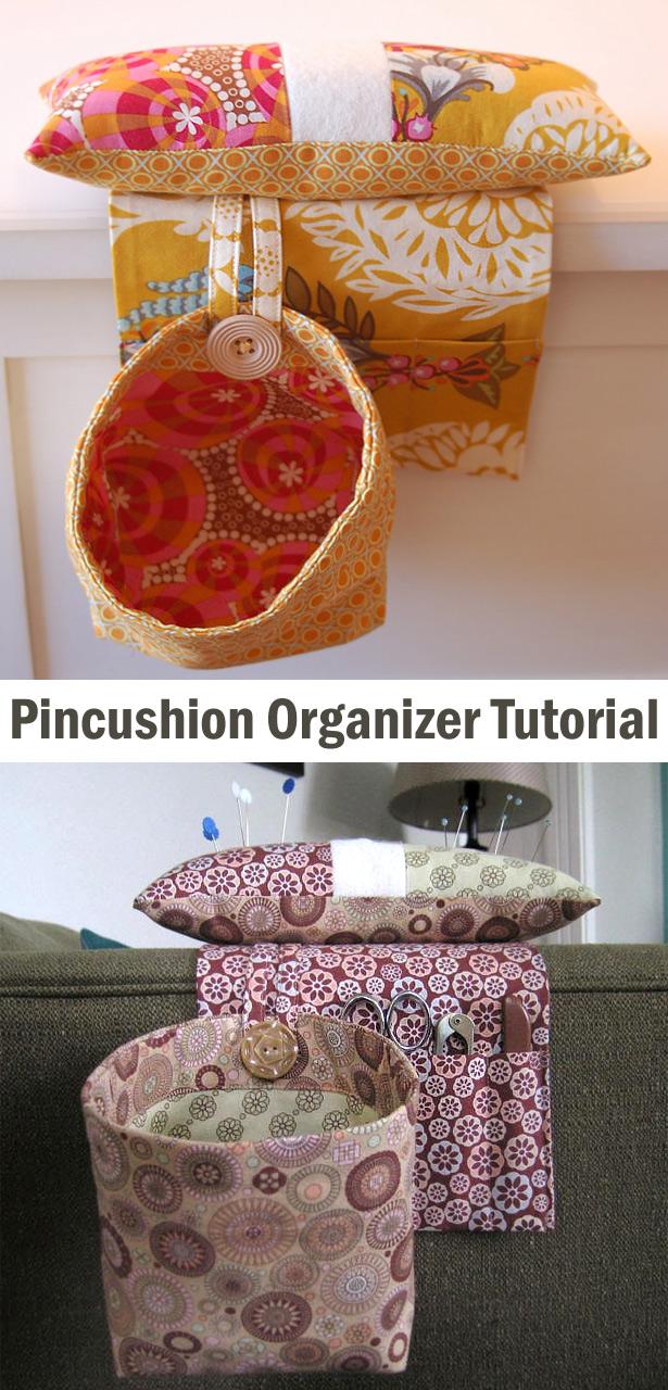Pincushion Organizer Tutorial