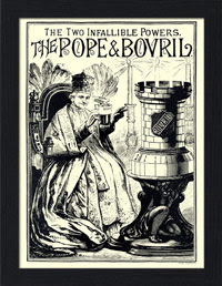 Pope and Bovril