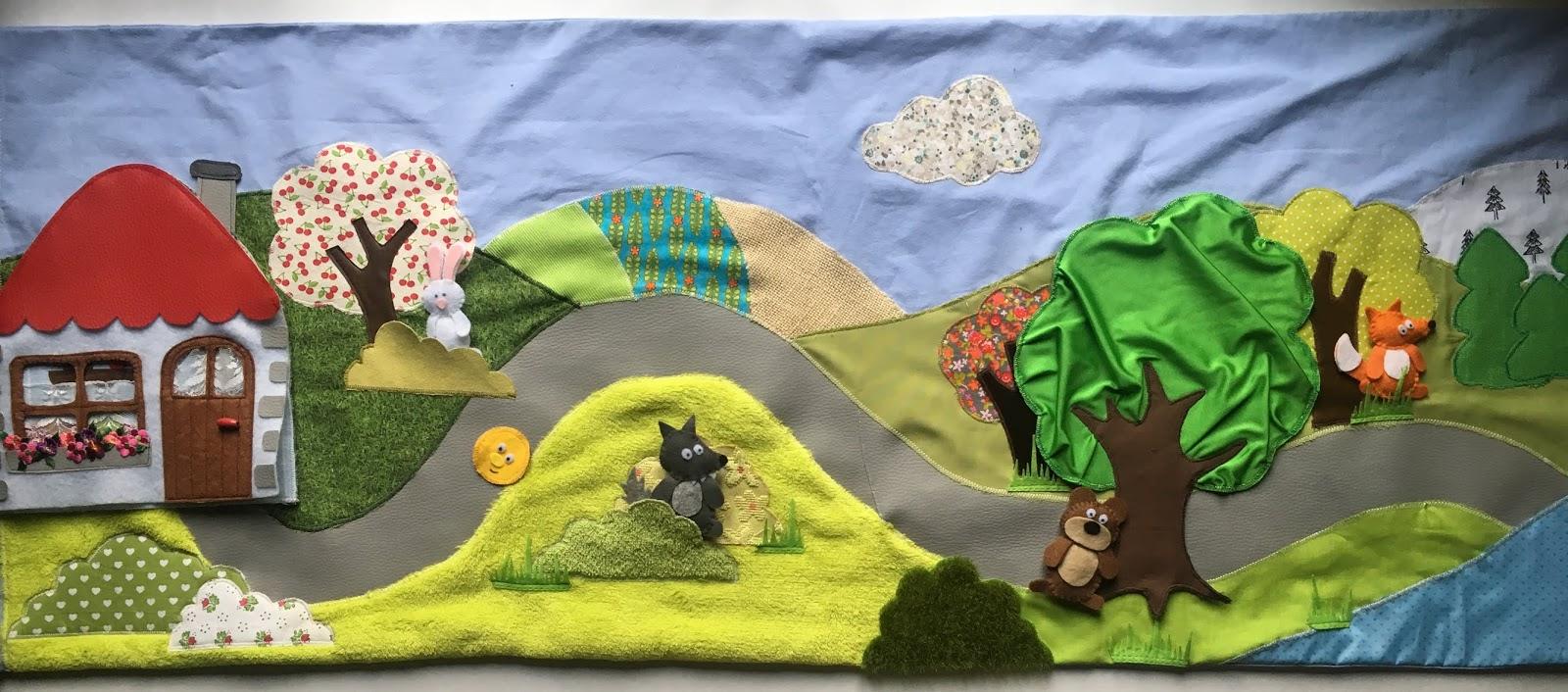 tapis a histoire multi contes