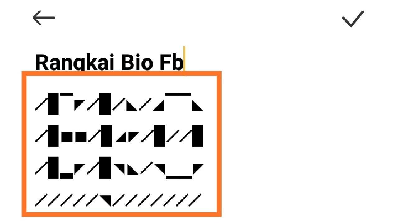 Bio Fb Keren Bahasa Inggris