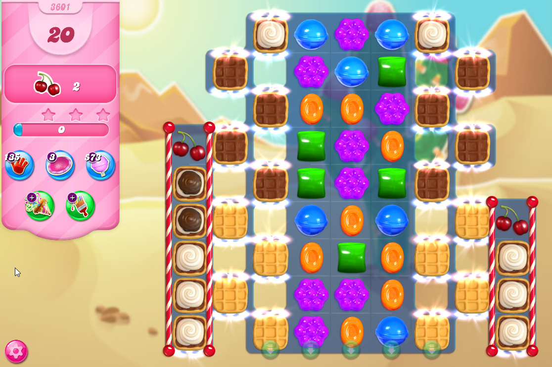 Candy Crush Saga level 3601