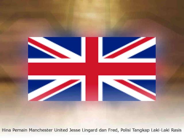 Hina Pemain Manchester United Jesse Lingard dan Fred, Polisi Tangkap Laki-Laki Rasis