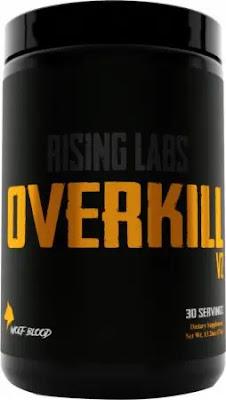 Overkill V2 pre-workout powder