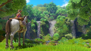 Dragon Quest XI PS3 Background