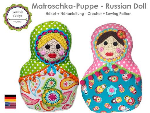 Ebook Matroschka Puppe Kissen