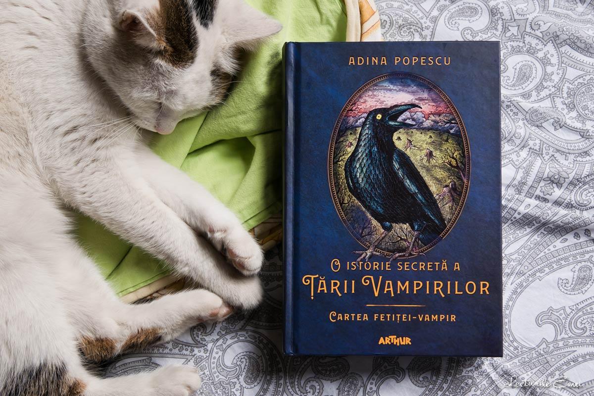 Recenzie Cartea fetiței-vampir Adina Popescu O istorie secretă a Țării Vampirilor