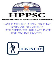 Himachal Pradesh Public Service Commission recruitment 2017  for various posts  apply online here