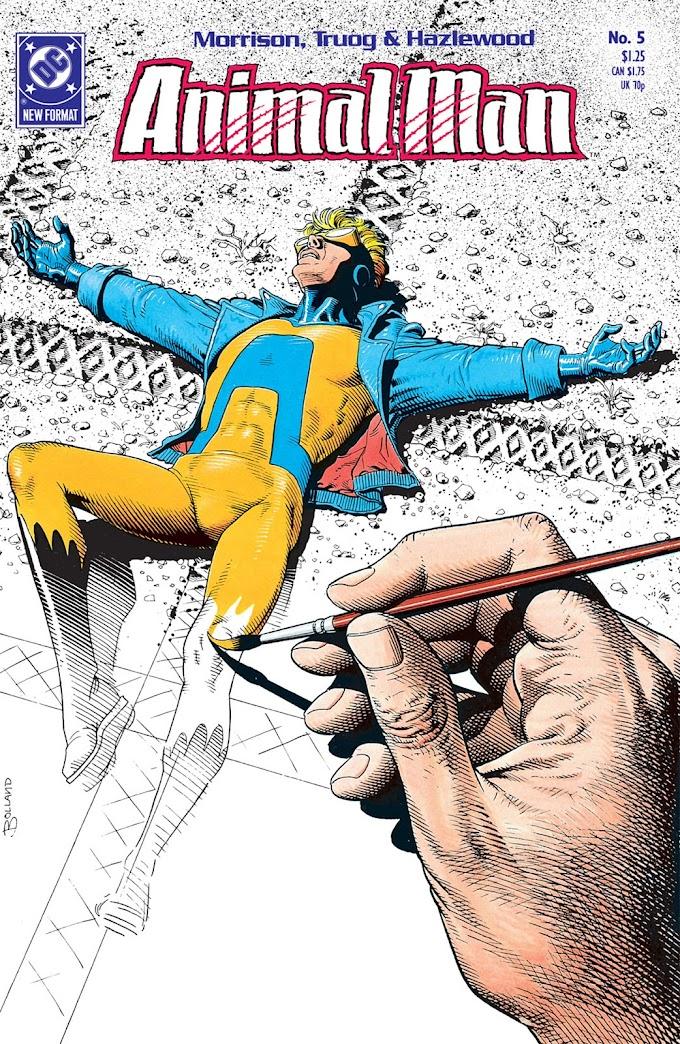 Animal Man de Grant Morrison, un animalista David contra un metatextual Goliat