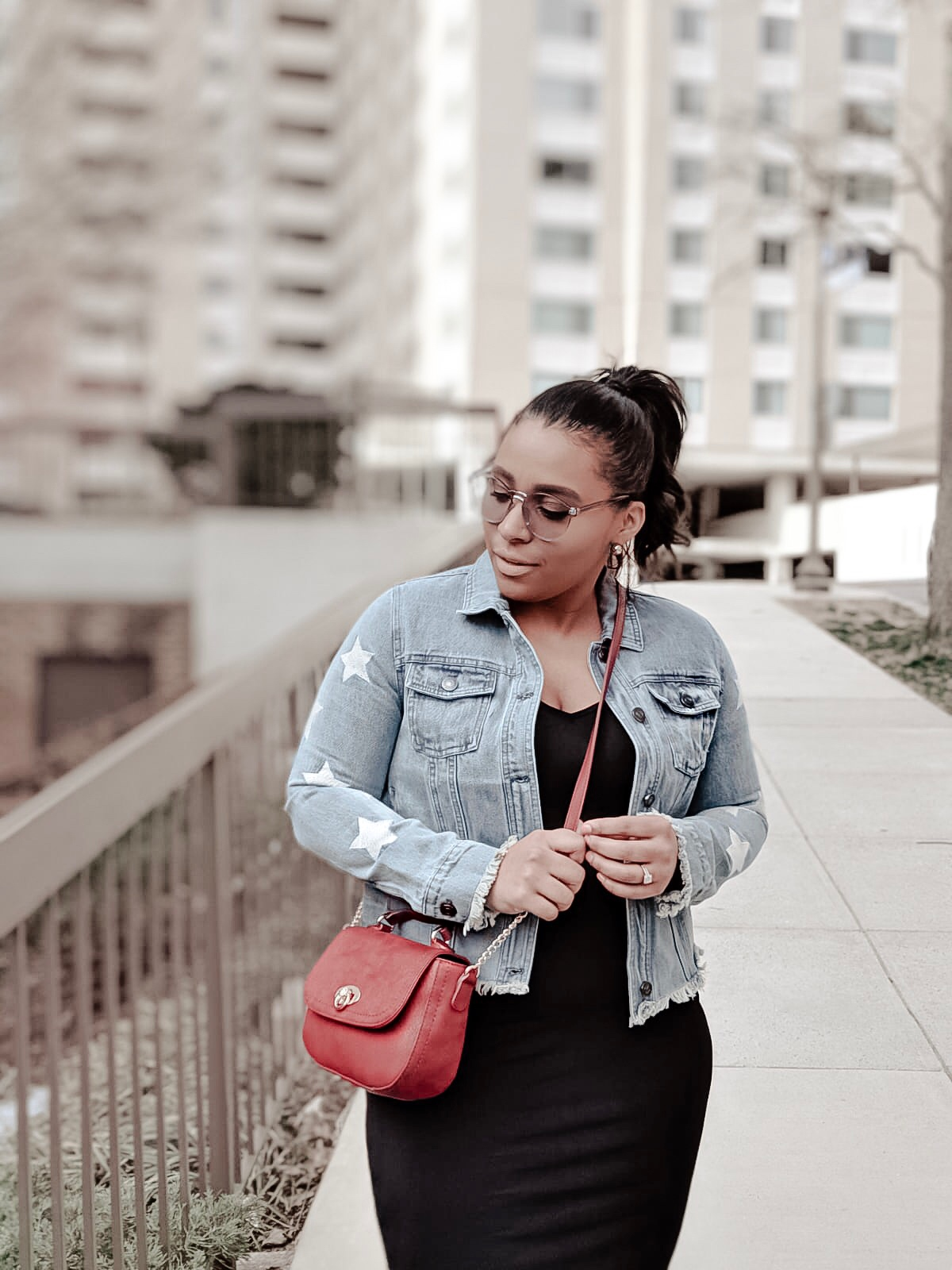mom bloggers, dc bloggers, spring outfit ideas, denim jacket, mom oufits