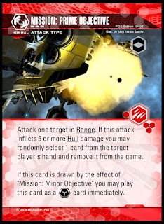 Attack type: Mission Prime Objective