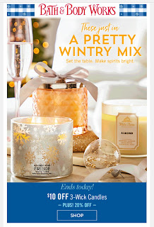 Bath & Body Works | Today's Email - December 10, 2019