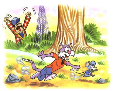 el Gato y el Raton la fontaine