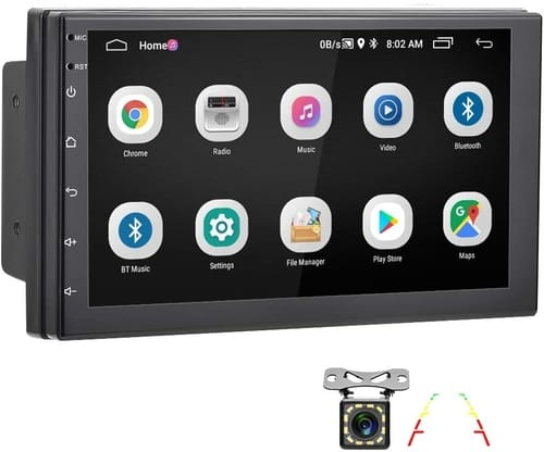 AMPrime 2din Android Head Unit 7 inch Car Radio