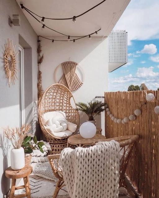 Baharı Balkona Taşıyan Tasarımlar