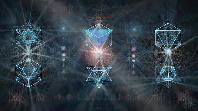 Plano de Fundo Geometria Sagrada