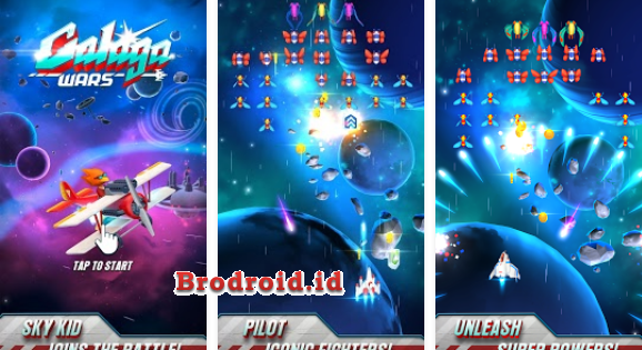 Download Galaga Wars v3.1.0.929 Apk Mod Money Terbaru