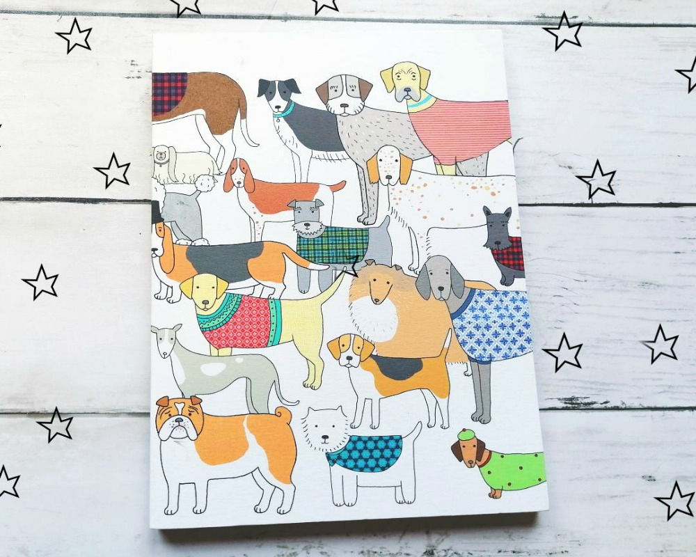 Pack Of Proud Pooches Notebook