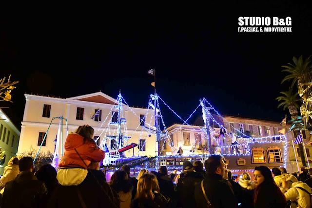 Το Ναύπλιο κέρδισε τις εντυπώσεις των χιλιάδων επισκεπτών για τα Χριστούγεννα - Sold out και την Πρωτοχρονιά