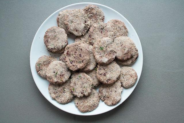 Polpette vegetariane di fagioli rossi step 9