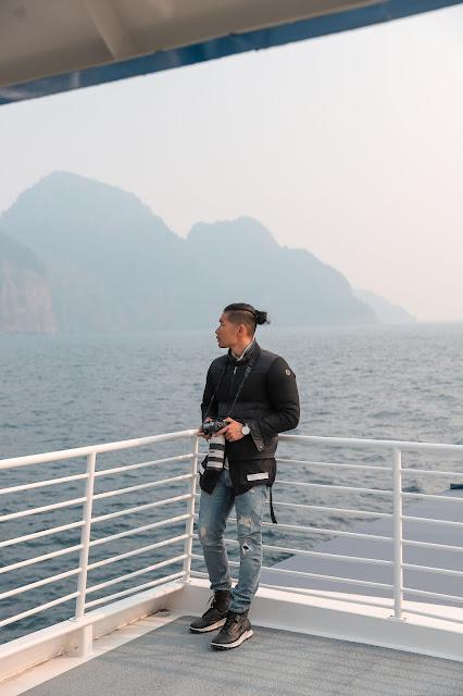 Leo Chan in Seward Alaska