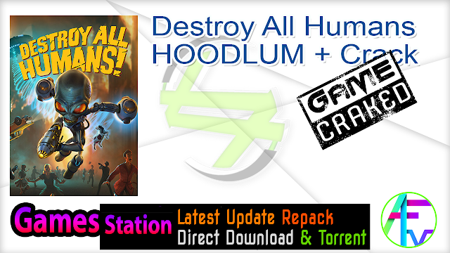Destroy All Humans-HOODLUM + Crack