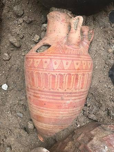 Παιδικός ετρουσκικός τάφος ανακαλύφθηκε στο Vulci