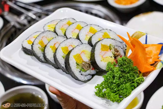 Kimbap of Korean Village Authentic Restaurant