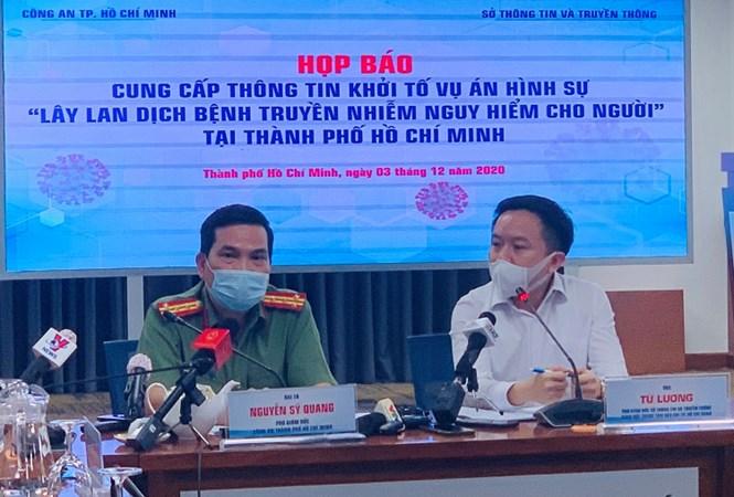 Sài Gòn - TPHCM: Lần đầu tiên khởi tố vụ án lây nhiễm dịch bệnh trong cộng đồng