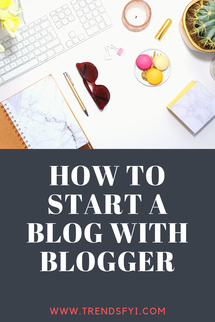 start a blog with blogger