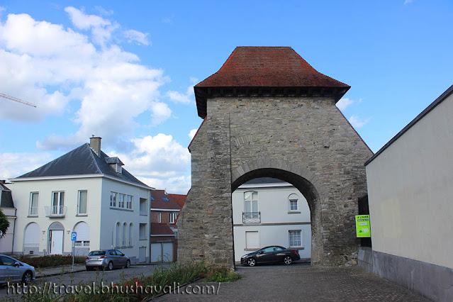 Tournai Fortification Walls Medieval