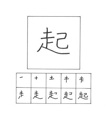 kanji bangun