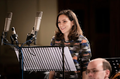 Chiara Skerath recording volume one of Sturm und Drang