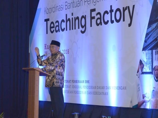 Menyelaraskan Lulusan SMK dan Dunia Industri dengan Teaching Factory