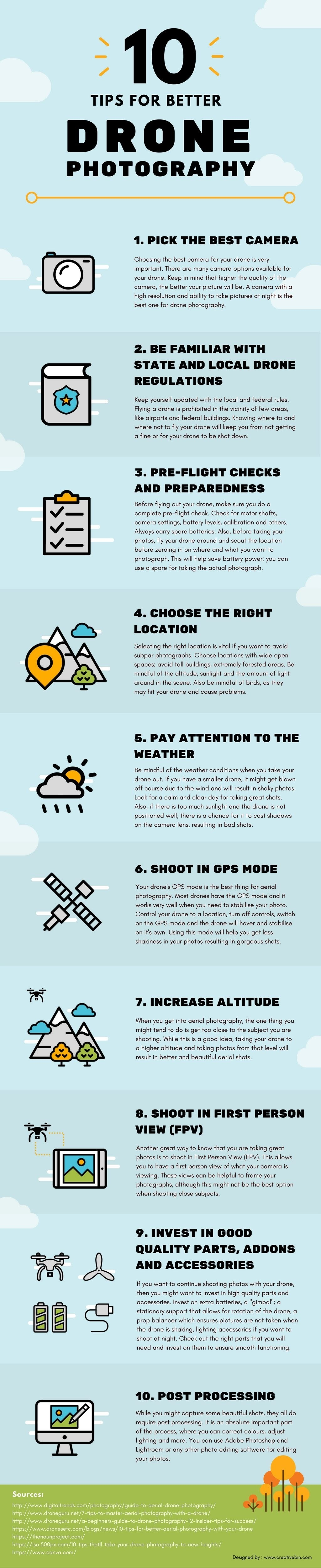 10 PHOTOGRAPHY BETTER PHOTOGRAPHY #INFOGRAPHIC