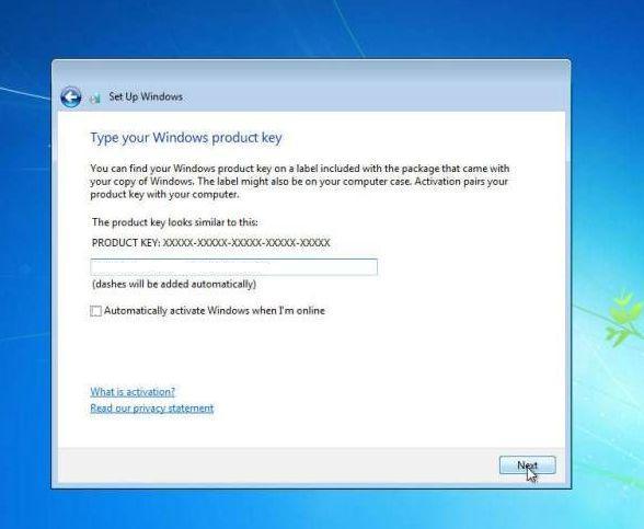 cara instal windows 7 memasukan kode