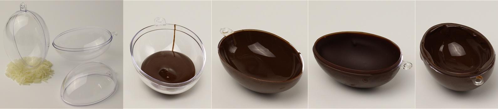 Anleitung Selbstgemachte Schokoladeneier 2