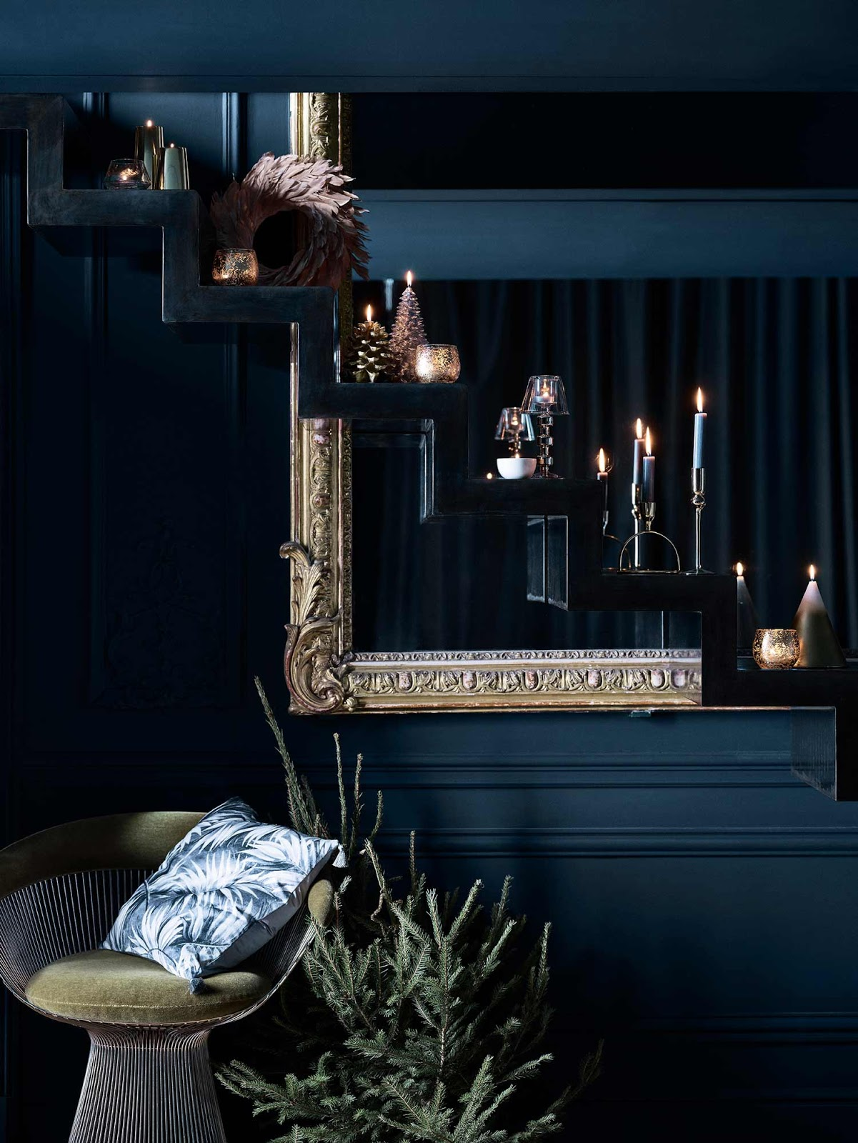 Midnight Blue La Collezione Di Natale Di Zara Home Coffee Break The Italian Way Of Design