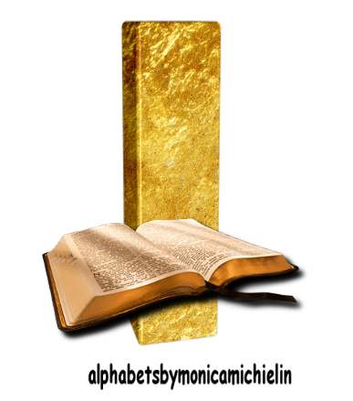 Monica Michielin Alfabetos Alfabeto Da Biblia Png Bible Alphabet Png Biblia Bible Alfabeto Alphabet