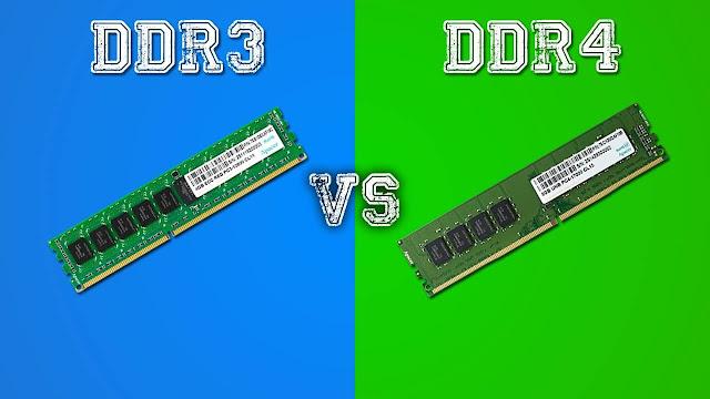 DDR4 vs DDR3 RAM Comparison