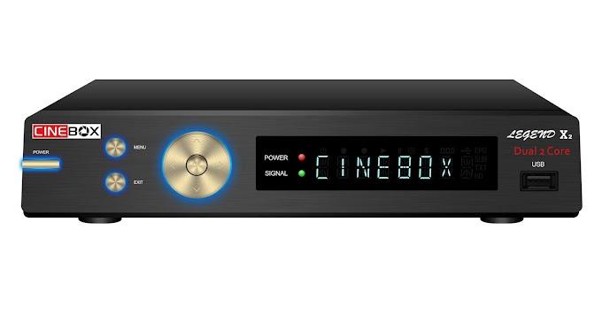 CINEBOX LEGEND X2 NOVA ATUALIZAÇÃO - 29/07/2019