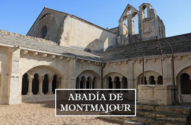 Visita a la abadía de Montmajour en Arles