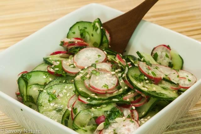 How to make radish salad recipe